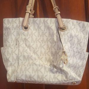 KORS by Michael Kors Tan leather purse